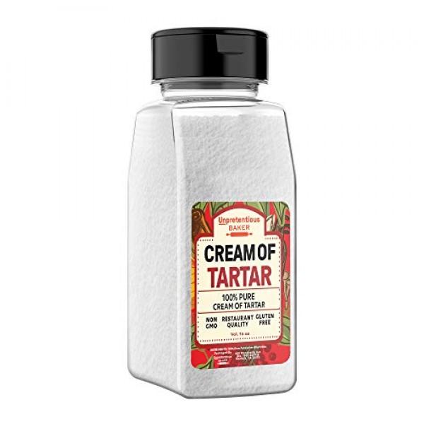 Cream of Tartar, 2 Cups 16 fl oz by Unpretentious Baker, Highe...