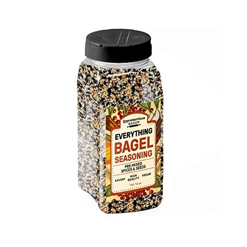 Everything Bagel Seasoning, 16 oz by Unpretentious Baker, Add Te...