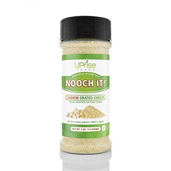 NOOCH IT! Fair Trade Dairy-Free Cashew Grated Cheeze | Vegan Par...