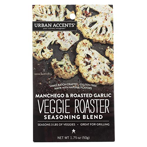 Urban Accents Your Culinary Wingman Manchego Roasted Garlic Vegg...