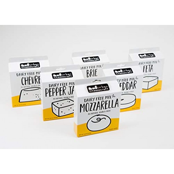 Dairy-Free Cheddar Cheese Mix 3 Pack – Vegan, Paleo, All Natural...