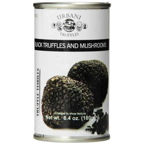 Urbani Truffles Truffle Thrills, Black Truffles and Mushrooms, 6...