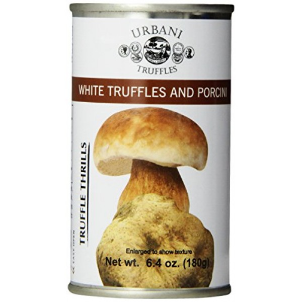 Urbani Truffles Truffle Thrills, White Truffles and Porcini, 6.4...