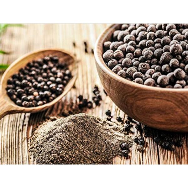 US-FARMERS Natural Premium Black Pepper Powder in Resealable Bag...