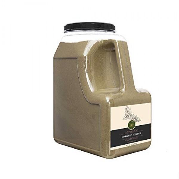 US-FARMERS Natural Premium Quality Oregano Powder in Jar, 5 Lbs