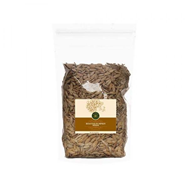 US-FARMERS Natural Premium Quality Roasted Pumpkin Seeds lady n...