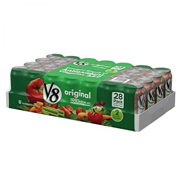 V8 Original Vegetable Juice Cans 11.5 oz., 28 ct.M