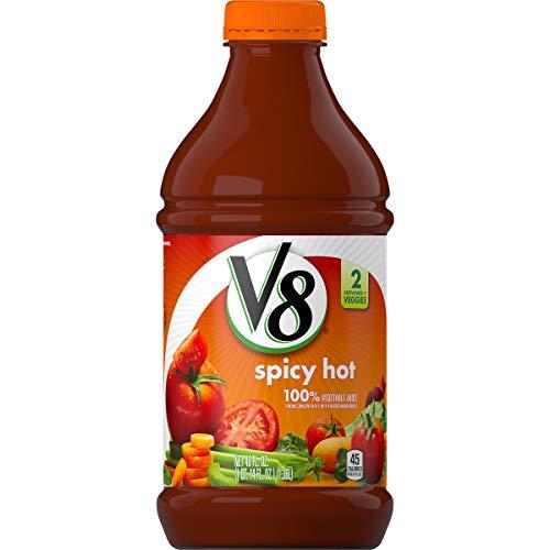 V8 Spicy Hot 100% Vegetable Juice, 46 oz.