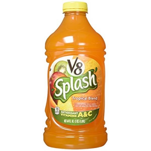 V8 Splash Tropical Blend - 64 fl. oz. - 2 pk