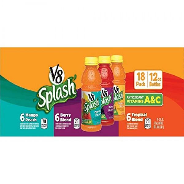 V8 Splash Variety Pack 12 oz. bottles, 18 pk.