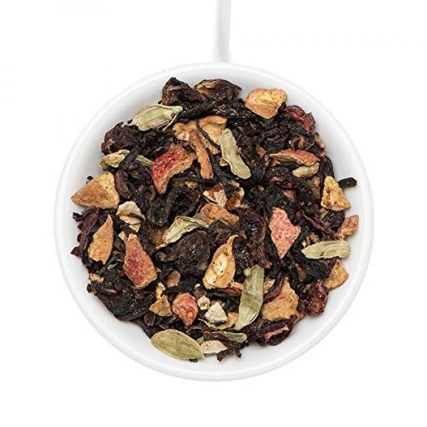 VAHDAM, Hibiscus Flowers and Black Tea Loose Leaf 100 Cups | H...