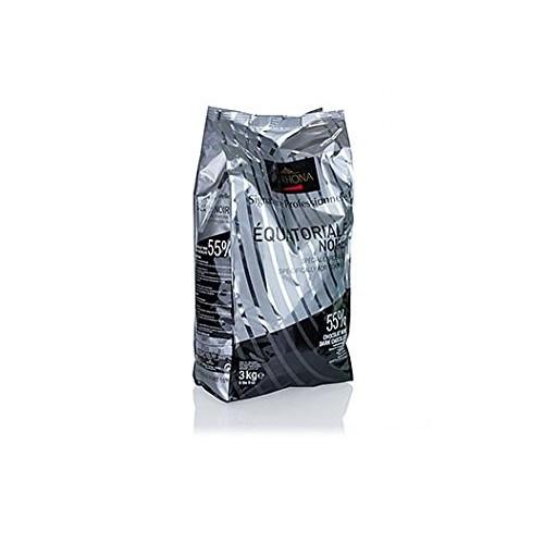 Valrhona Dark Chocolate - 55% Cacao - Equatoriale Noire - 6 lbs ...