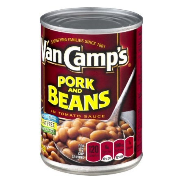 Van Camps Pork N Beans 15oz 6pack