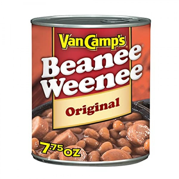 Van Camps Beanee Weenee Original, 7.75 oz