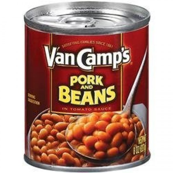 Van Camps Pork and Beans in tomato sauce 8oz 6pack