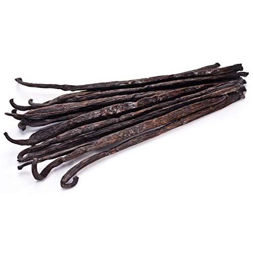 25 Vanilla Beans - Whole Extract Grade B Pods for Baking, Homema...