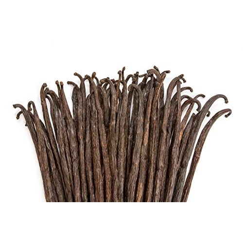 Vanilla Beans - Whole Extract Grade B Pods for Baking, Homemade ...