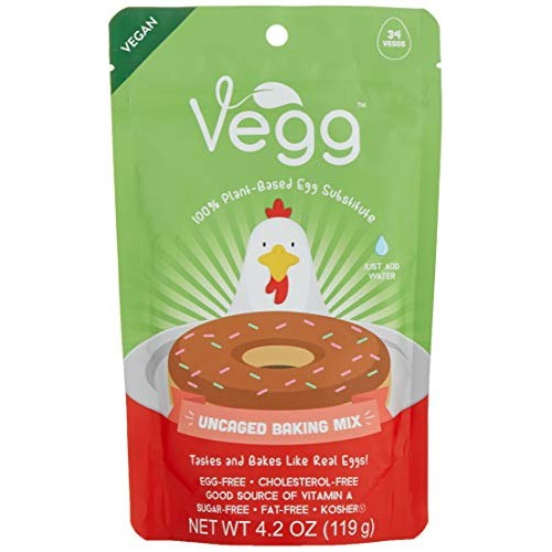 The Vegg - Vegan Egg Baking Mix - 4.2 Oz 34 Eggs