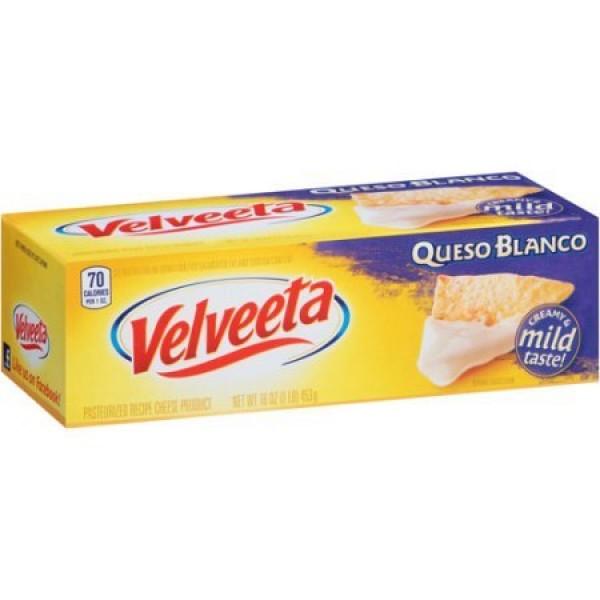 Kraft Velveeta Queso Blanco Cheese 16 oz