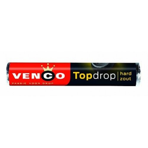 Venco Topdrop Licorice Roll Pack of 6 in a Box