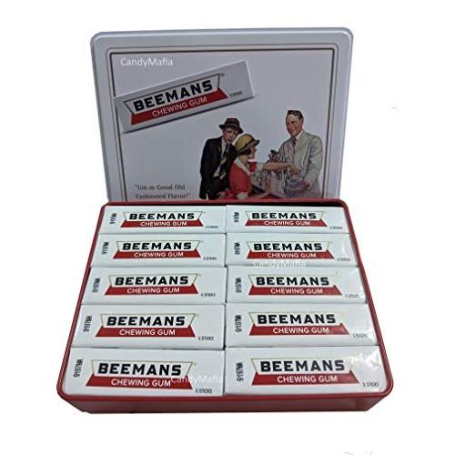 Beemans Beemans Gum 10 Packs 10 Sticks per Pack - Vintage C...