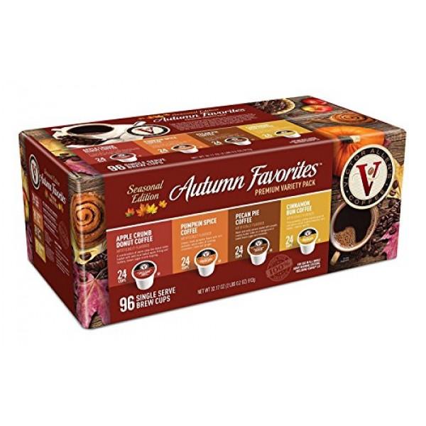 Autumn Favorites Variety Pack for K-Cup Keurig 2.0 Brewers, 96 C...