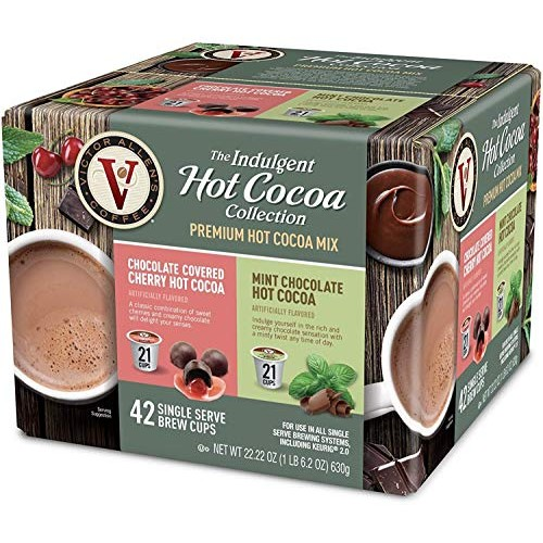 Victor Allens Hot Cocoa Chocolate Covered Cherry & Mint Chocolat...