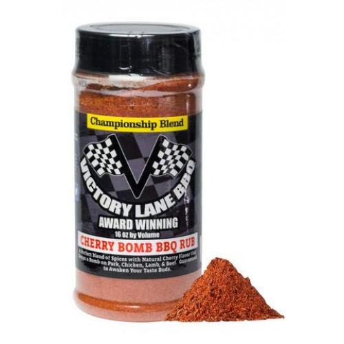 Victory Lane BBQ Cherry Bomb Dry Rub--VLBBQ 16 oz Shaker of Awar...