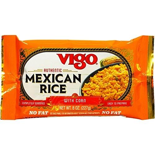 Vigo Mexican Rice, 8-Ounce Pouches Pack of 12