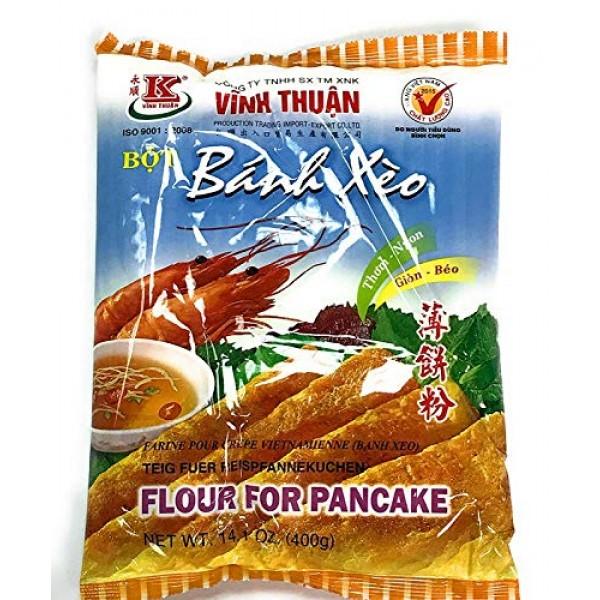 Bot Banh Xeo Flour for Pancake - 14.01oz Pack of 3