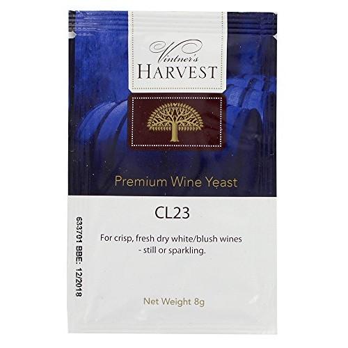 Vintners Harvest Wine Yeast - CL23 8g treats 23L Dry White Blus...