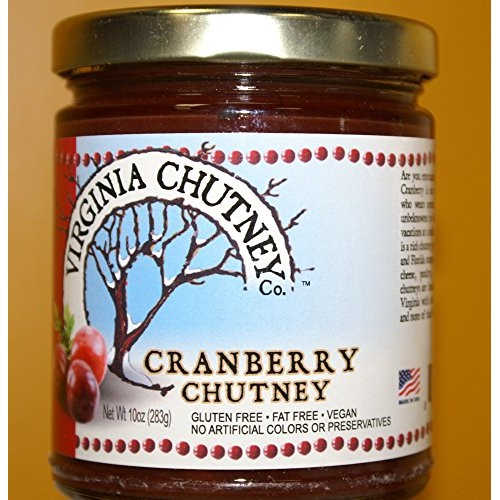 Cranberry Chutney - All Natural AWARD WINNING Chutney Made With ...