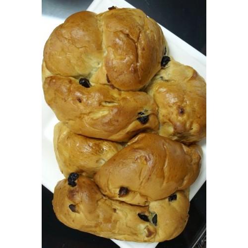 Challah Bread - Cherry Apple Challah -2 PACK- 2 Pound Challah Br...