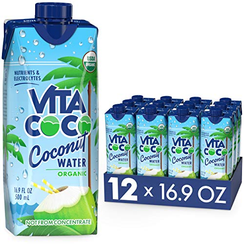Vita Coco Coconut Water, Pure Organic | Refreshing Coconut Taste...