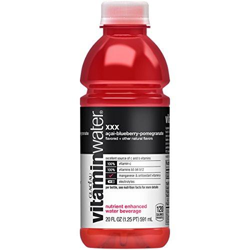 vitaminwater XXX, 20 fl oz, 24 Pack