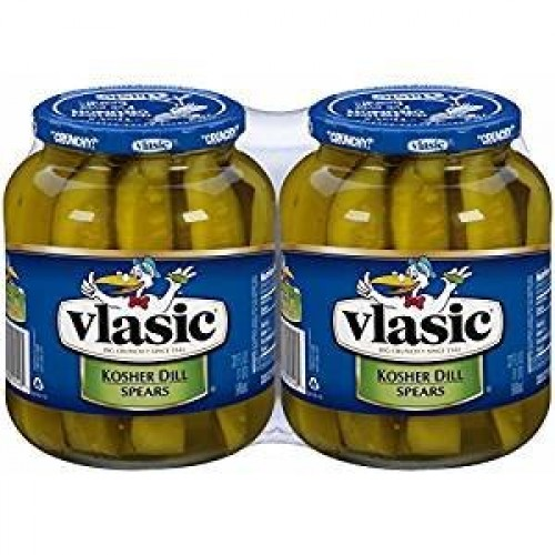 Vlasic Kosher Dill Spear Pickles, 32 oz., 2 ct.
