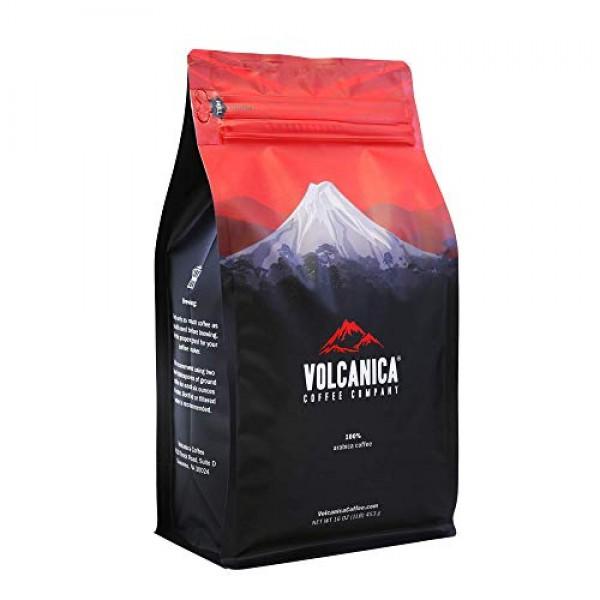 Eggnog Flavored Coffee , Ground, Fresh Roasted, 16-ounce