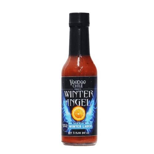 Voodoo Chili Winter Angel Hot Sauce made with Samuel Adams Winte...
