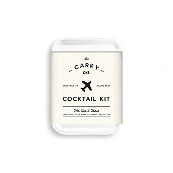 W&P Carry on Cocktail Kit, Gin & Tonic MAS-CARRYKIT-GT