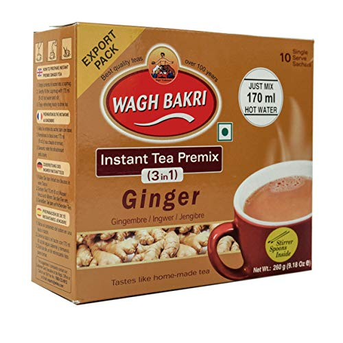 Wagh Bakri Ginger Tea 10ct