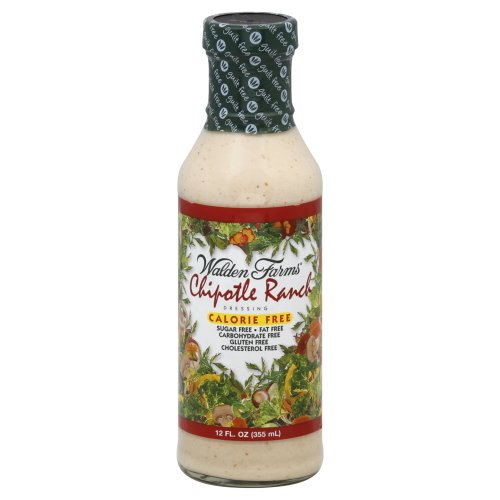 Walden Farms Calorie-Free Chipotle Ranch Dressing, 12 Ounce Pac...