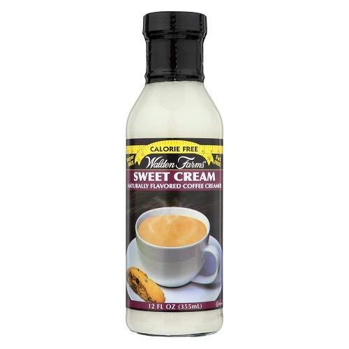 Walden Farms Sugar-Free Sweet Cream Coffee Creamer, 12 Ounce Pa...