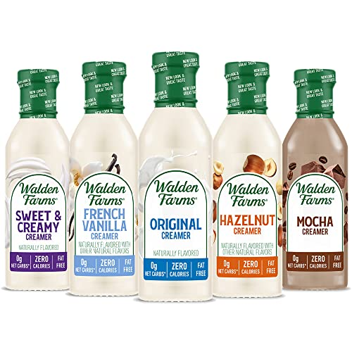 Walden Farms Coffee Creamers Calorie Free, Dairy Free, Carb Free...