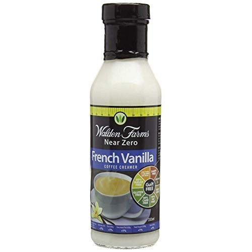 Walden Farms French Vanilla Coffee Creamer 355ml Pack of 2