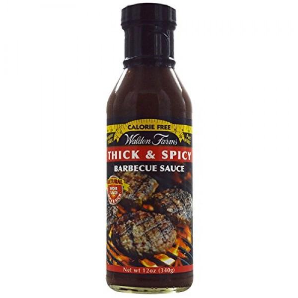 Walden Farms, Thick & Spicy Barbecue Sauce, 12 oz 340 g Walden...