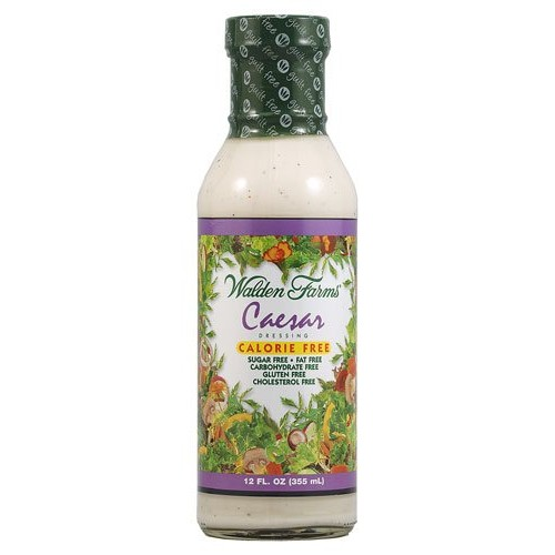 Walden Farms Calorie Free Dressing Caesar -- 12 fl oz - 2 pc