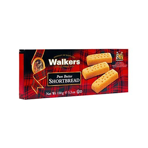 Walkers Shortbread Fingers, 5.3-oz. Boxes (Count of 6), Traditio...