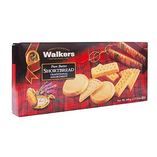 Walkers Shortbread Assorted Shortbread Cookies, 17.6 Ounce Box