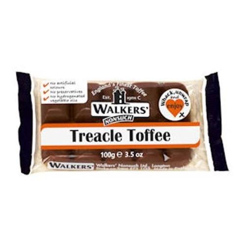 Walkers Treacle Toffee Slab 3 x 100g bars