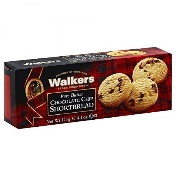 Walkers Classic Shortbread Chocolate Chip - 4.4 oz